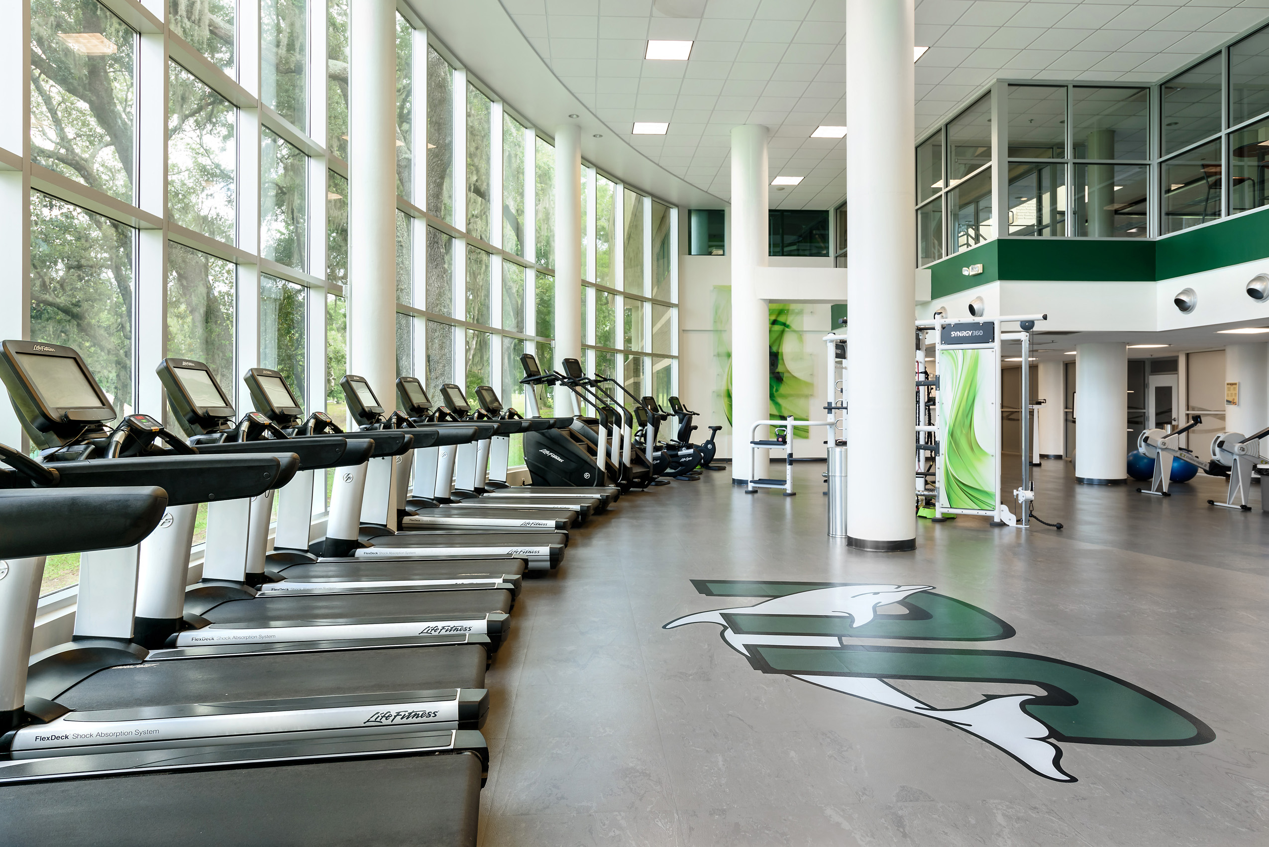 Jacksonville University Fitness Center: Jose​ ​Cardenas​ ​&​ ​John​ ​Perez​ ​-​ ​HOTA​ ​Design​ ​Studio